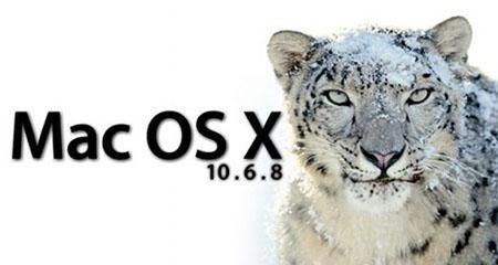 Mac OS X Snow Leopard 10.6.8.DMG