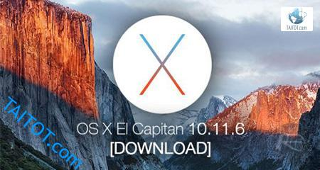 Mac OS X El Capitan 10.11.6.DMG