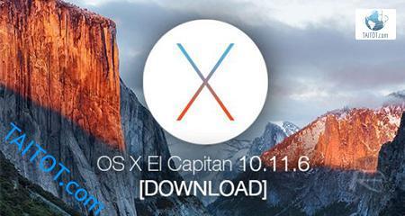 Mac OS X El Capitan 10.11.6.DMG