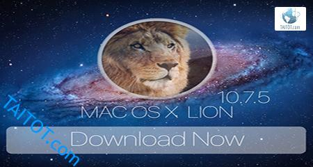 Mac OS X Lion 10.7.5 DMG