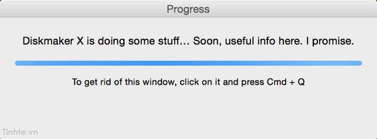 Hướng Dẫn Tạo USB Cài Mac OS X với DiskMaker