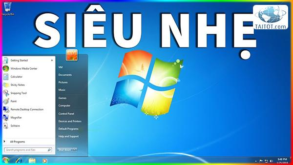 Windows 7 Ultimate Lite 32bit 1903
