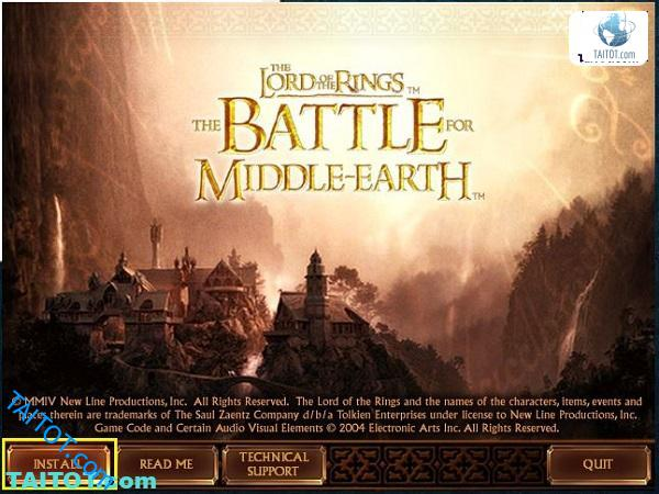 Game The Lord of the Rings - The Battle for Middle Earth 1