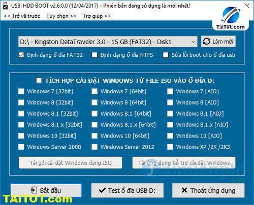 Hướng DẫnTích Hợp Ứng Dụng Vào USB-HDD BOOT1Click