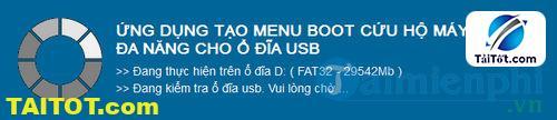 Hướng dẫn tạo USB-HDD Boot cứu hộ máy tính vớiUSB-HDD BOOT 1Click